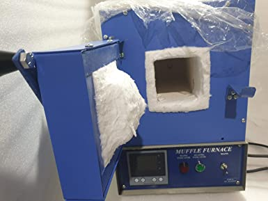 Digital Muffle Furnace Made of kanthal Wire Useful for ashing 225x100x100mm