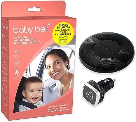 Dispositivo anti abbandono Steelmate Baby Bell | funziona anche
