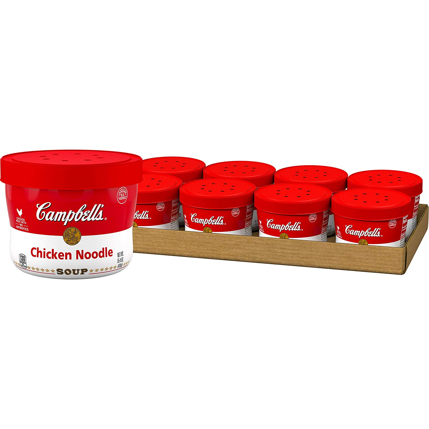 Campbell's Soup, Chicken Noodle, 15.4 Ounce (Pack of 8)