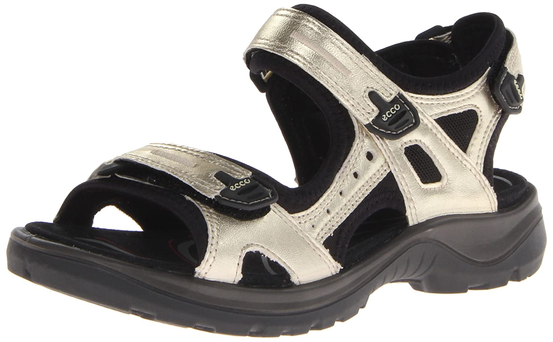 ECCO Women's Yucatan Sandal B00CPKCDUI 42 EU/11-11.5 M US|Light Gold