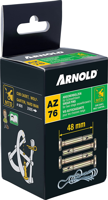 MTD//Arnold Universal Gleitkufen-Set für Schneefräsen 7012-M6-0009