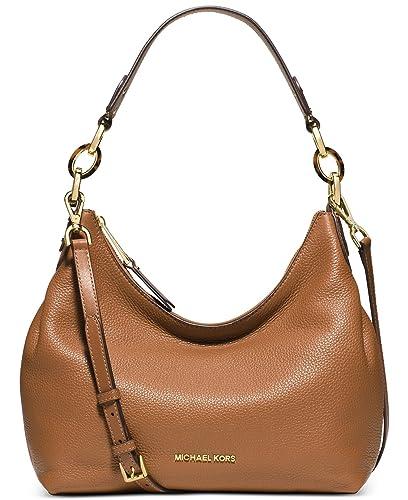 d585c1a42c ... best price michael michael kors womens isabella leather convertible  shoulder bag tan medium handbags amazon 8a0b8