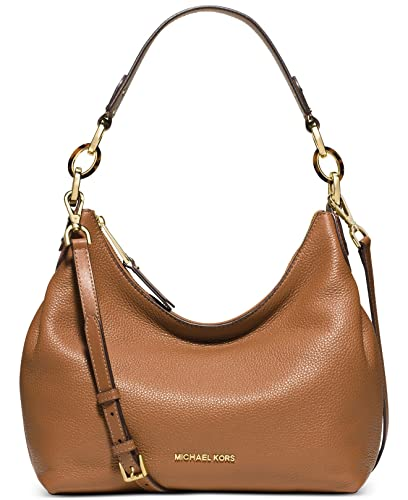 f22663dac0e2e Amazon.com: MICHAEL Michael Kors Womens Isabella Leather Convertible Shoulder  Bag Tan Medium: Shoes