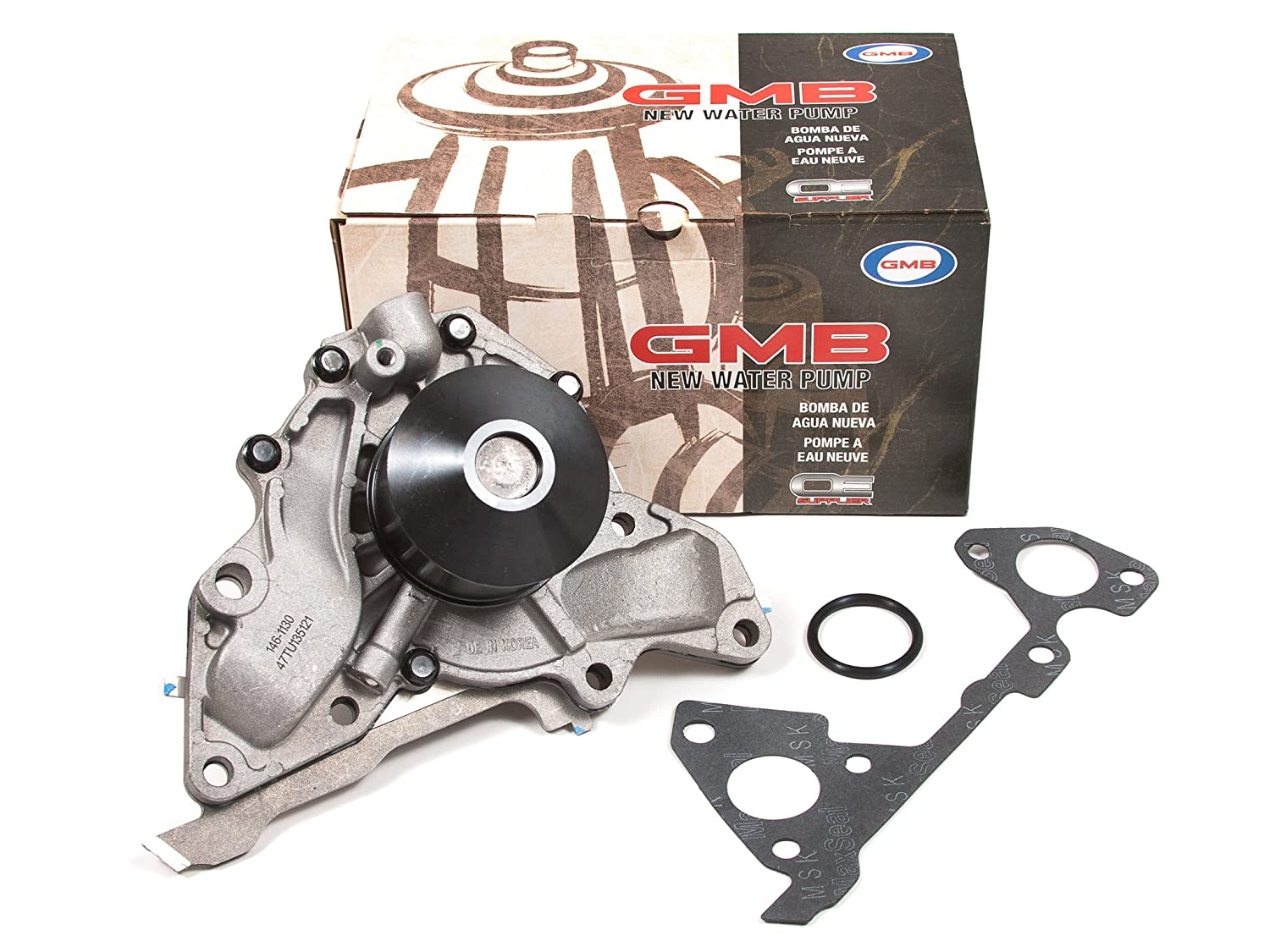 Amazon.com: Evergreen TBK323WP Fits 00-06 Hyundai XG350 Santa Fe Kia Sedona 3.5L Timing Belt Kit GMB Water Pump: Automotive