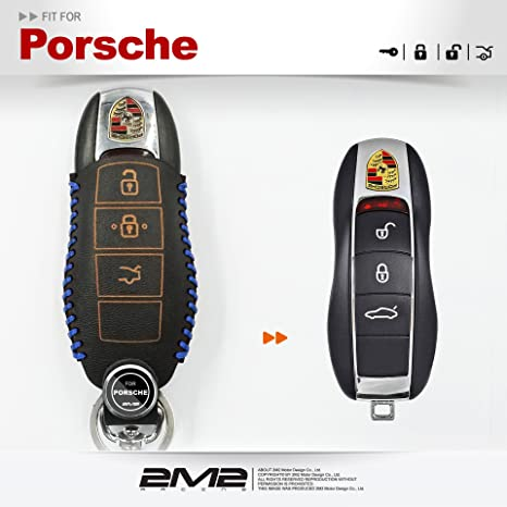 2M2 - Funda de Piel para Llavero Porsche 911 Race s Targa ...