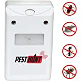 Pest Hunt Ultrasonic Electronic Plug pest repellent pest control Indoor Outdoor products as seen on tv Pest Control Repeller product for Insects Cockroach Rodents Flies Roaches Ants Spiders Fleas Mice