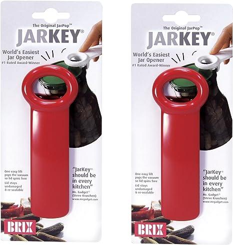 Brix Original Easy Jar Key Opener Assorted Colors 2 Pack