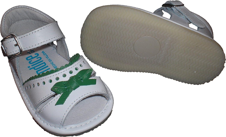 Zapatos Sandalias para bebé con Lazo, Suela Fina, Flexible y ...