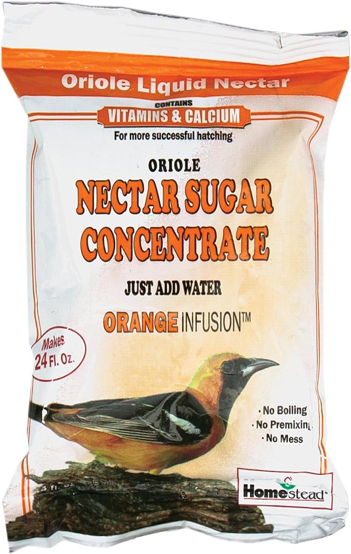 Homestead 8 oz Oriole Orange Nectar Sugar Concentrate (Powder) - 4304