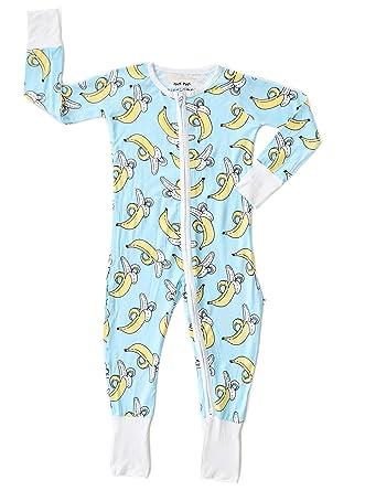 801b345e3 Amazon.com  Little Sleepies Bananas Baby Toddler Boys Bamboo ...