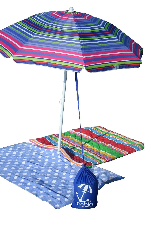 Amazon.com : Noblo Umbrella Buddy  Simple Beach Shade Umbrella Anchor  (blue) : Patio Umbrellas : Sports U0026 Outdoors