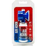 Air Horn for Boating Safety Canned Boat Accessories | Marine Grade Airhorn Can and Blow Horn or Compressed Horn Refills