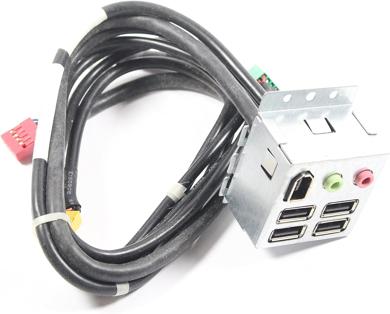 Dell XPS 435mt Front I/O Panel USB Firewire Audio P735K