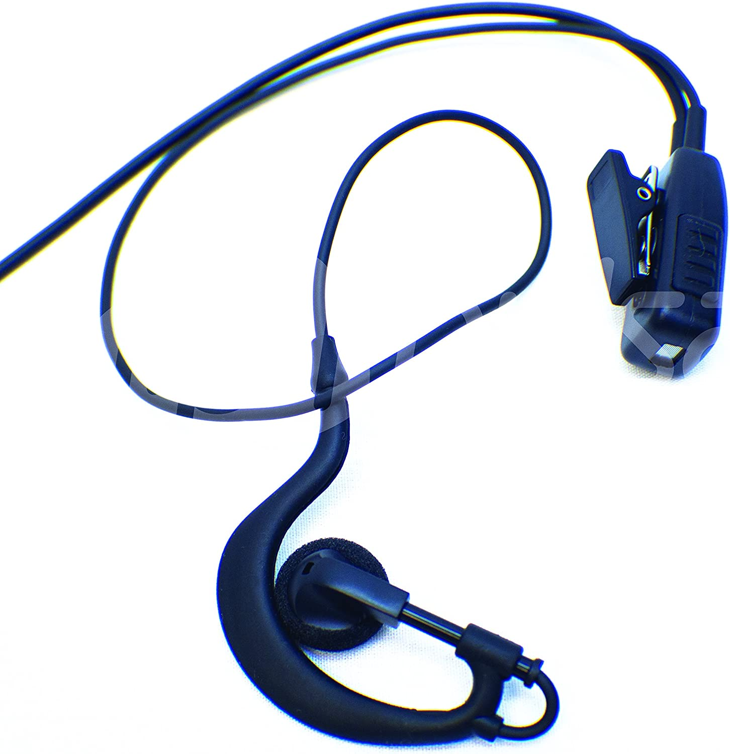 EarHook Surveillance Mic Kit for Vertex Standard VX-231 VX-261 VX-351 VX-450 and EVX Digital Series EJ30 Commercial Series