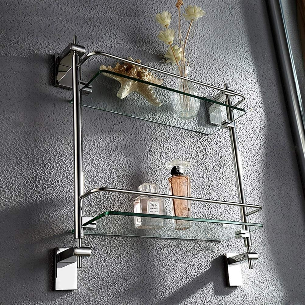 2nd Floor,Shower Rack,Large Capacity Storage Rack Rustproof Shelf Suitable for Bathroom Creative Bathroom Shelf
