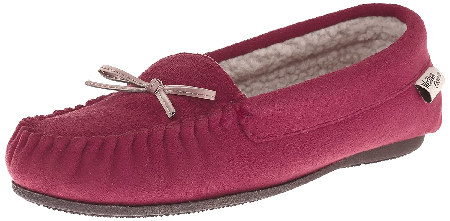 b56320ae141de Amazon.com | Western Chief Women Plush Lining Moccasin | Slippers