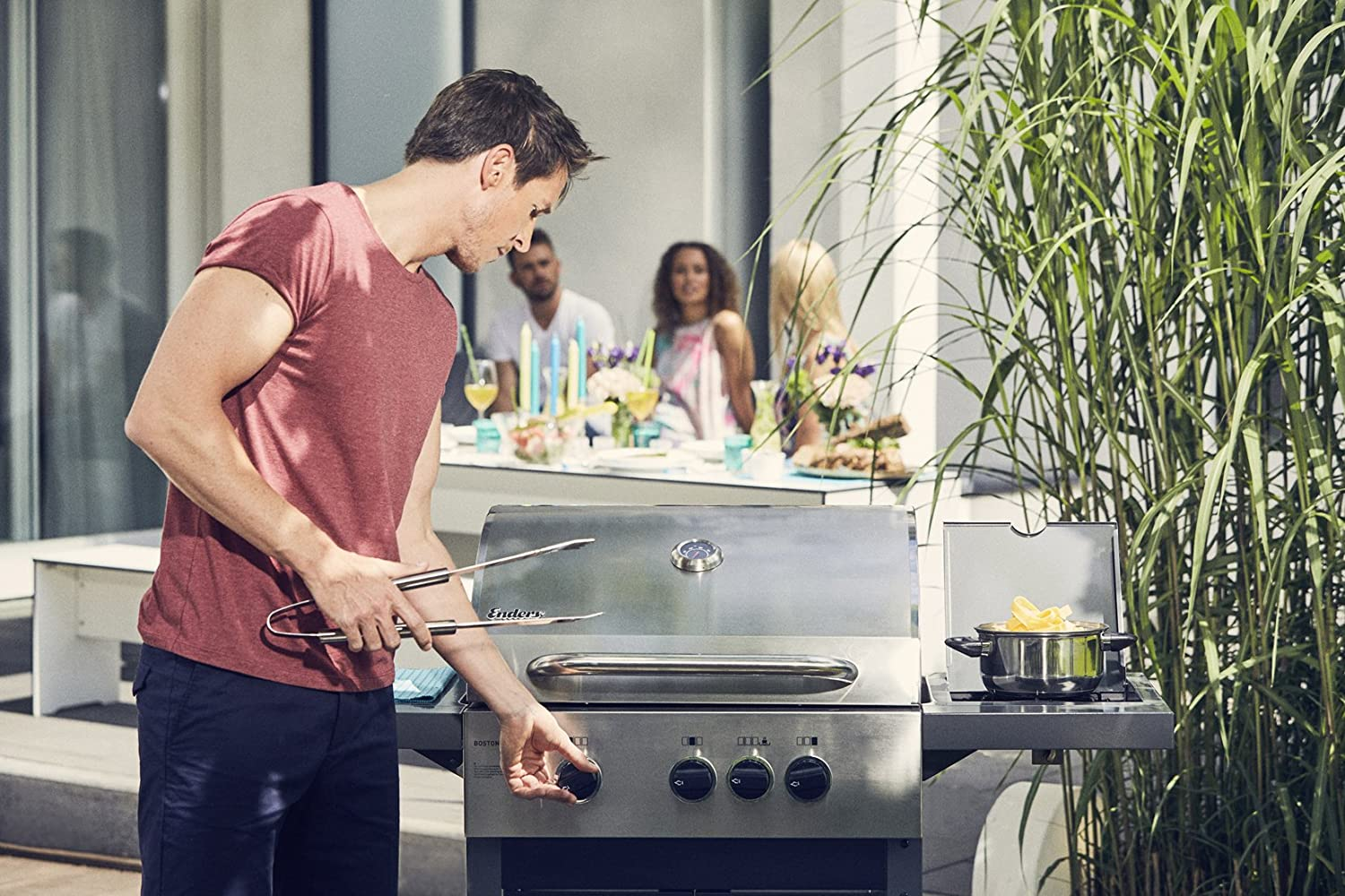 Aldi Gasgrill Boston Pro 3k : Aldi gasgrill test enders monroe k turbo silverline