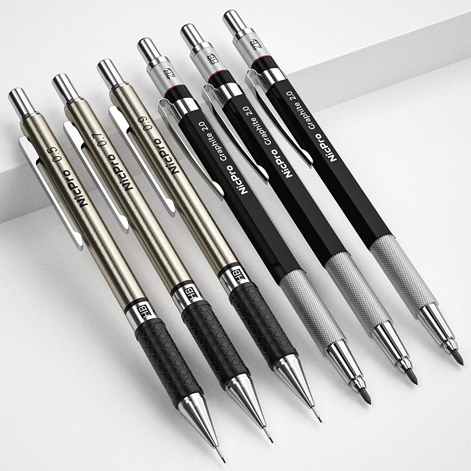 11 Best Mechanical Pencils in 2021 [For Drawing, Artists, Writers & Engineers]