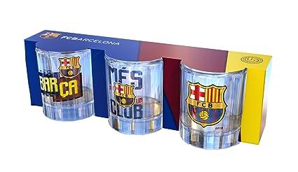 Pack de 3 Chupitos FCB