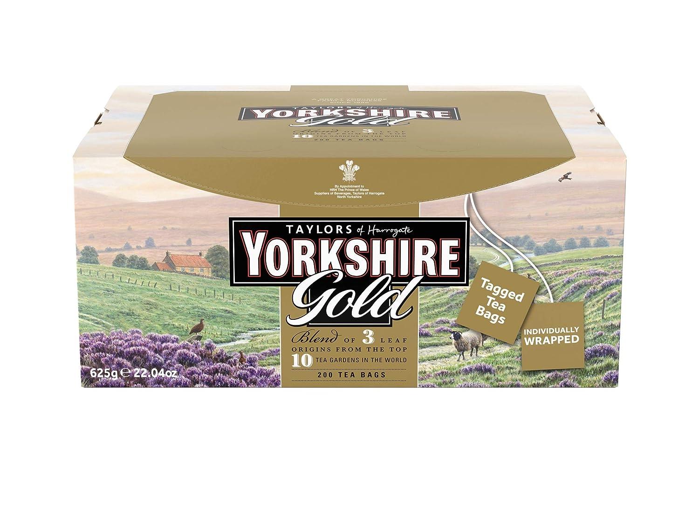 Bolsitas de té Yorkshire de Taylors of Harrogate ...