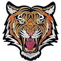 Le Terrible du Bengale à rayures Tigre Écusson brodé Iron on Sew on Patch