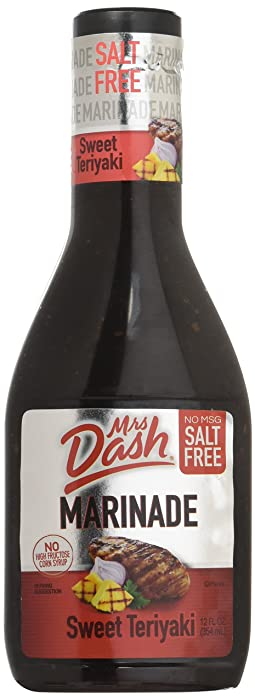 Mrs. Dash Marinade Salt-Free Sweet Teriyaki 12 Oz - Pack of 2