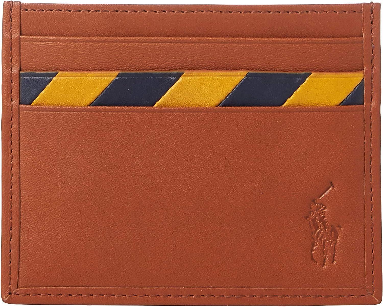 Polo Ralph Lauren - Funda de piel para tarjetas: Amazon.es ...