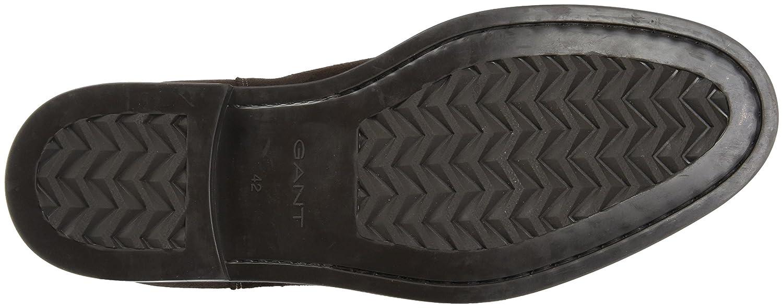 GANT Braun Herren Oscar Chelsea Boots Braun GANT (Dark Brown) ef6854