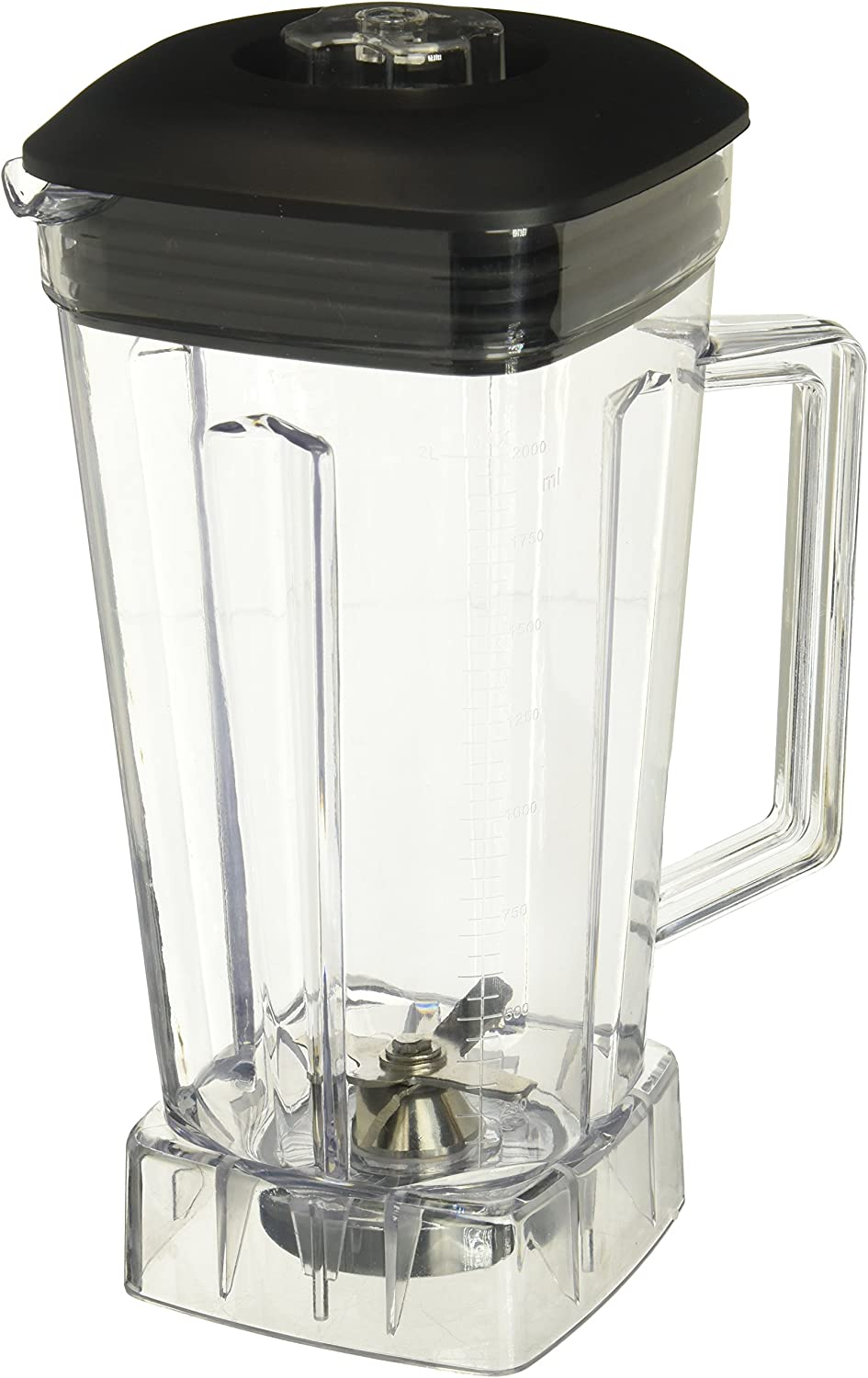 Hardin VMUJUG6 Vita-Mix Replacement 64oz Polycarbonate Container Jug with Top Cover, 6 Blade Leaf, Socket & Hex Key