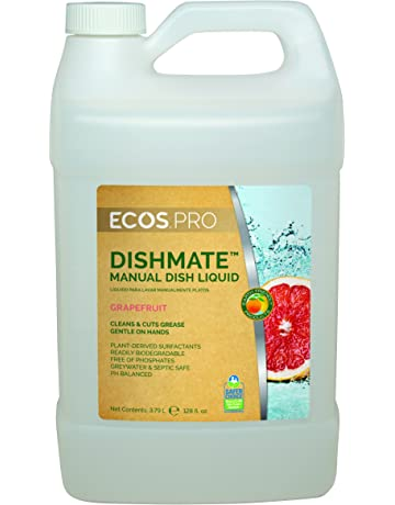 Earth Friendly Products Proline PL9722/04 Dishmate Grapefruit Ultra-Concentrated Liquid Dishwashing Cleaner,