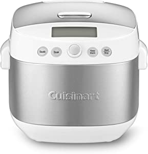 Cuisinart FRC-1000 10 Cup Rice Cooker, Grain Cooker, Multicooker, White