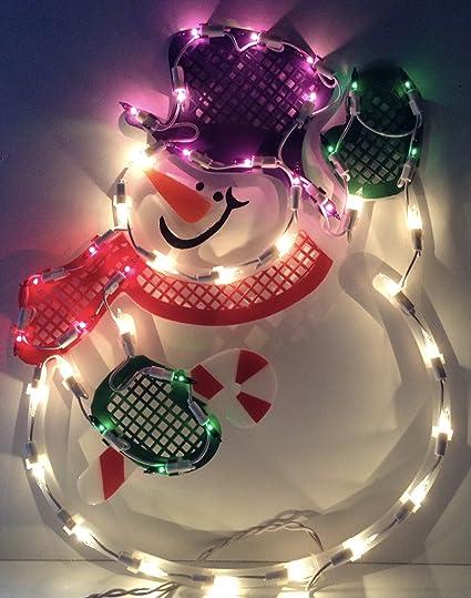 impact innovations christmas lighted window decoration tree 95085d