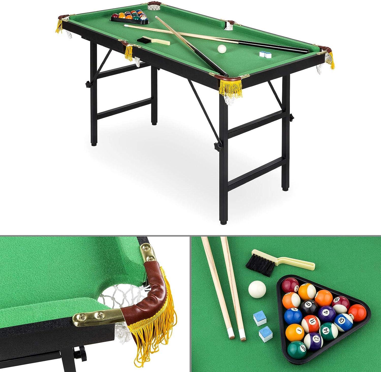 MB-TGamestar 2 en 1 Ping Pong y Billar Piscina Combo Arcade Mesa ...