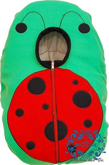 Amazon.com: Infant Car Seat Fleece Cover - Ladybug Design: Baby