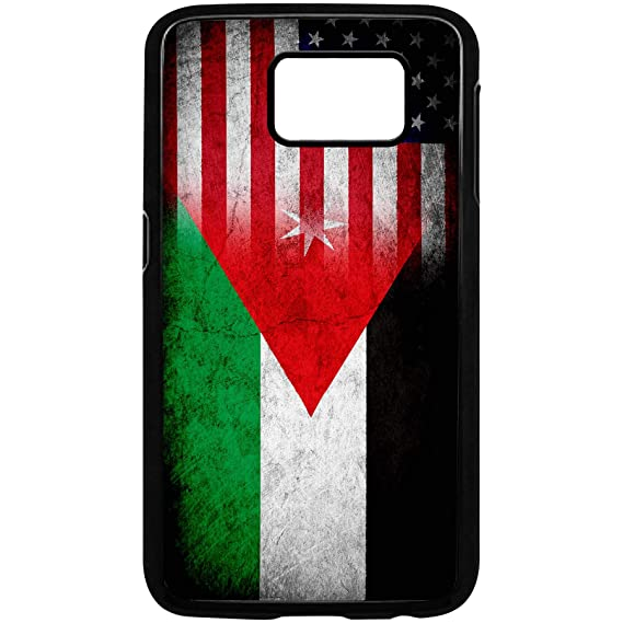 save off ef9ef 81798 Amazon.com: Case for Samsung Galaxy S8 Plus with Flag of Jordan ...