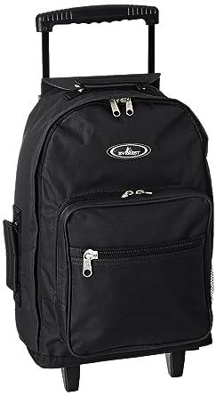 Everest Wheeled Backpack - Standard, Black, One Size