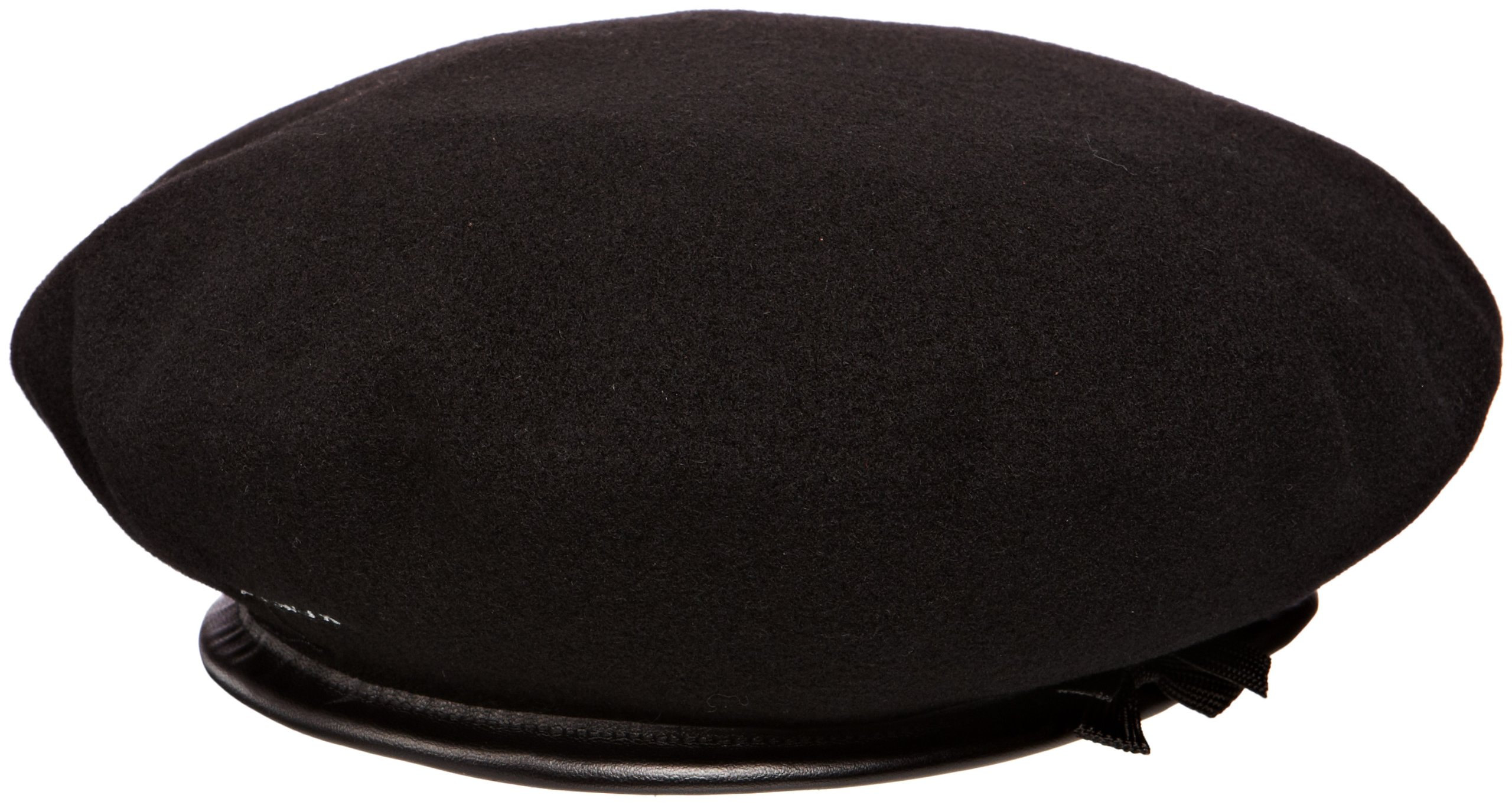 Kangol Classic Monty Beret, The Original Beret, Black (X-Large)