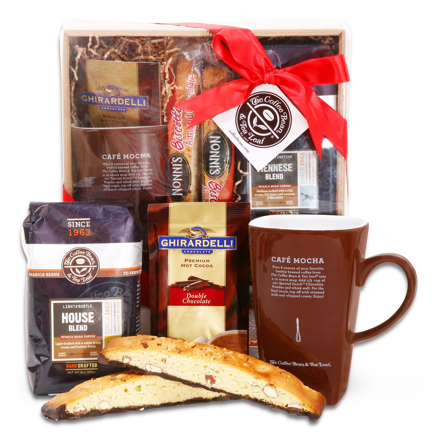 Amazon the holiday collection coffee bean and tea leaf amazon the holiday collection coffee bean and tea leaf gift basket gourmet gift items grocery gourmet food negle Gallery