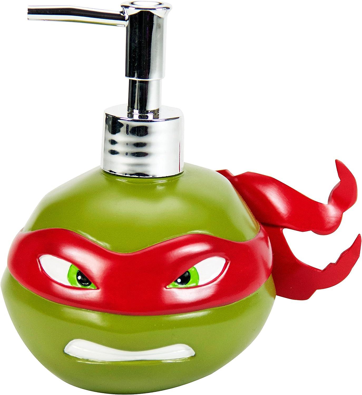 Nickelodeon Teenage Mutant Ninja Raphael Resin Lotion Pump, Team Turtles