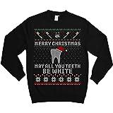 TEEPOMY Dental Merry Christmas May All Your Teeth Be White Unisex Hoodie