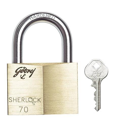 Godrej Imara 80 Mm 3 Keys Padlock Golden Best Price In