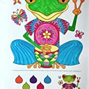 Hippie Animals Coloring Book Is Fun Amazoncouk