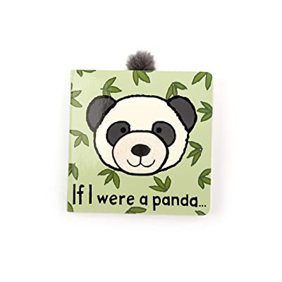 Jellycat Board Books, If I were a Panda: Toys & Games