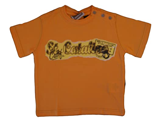 the latest ff56f 62f9a Murphy & Nye Boys Cotton Short Sleeve T Shirt Colour Orange ...