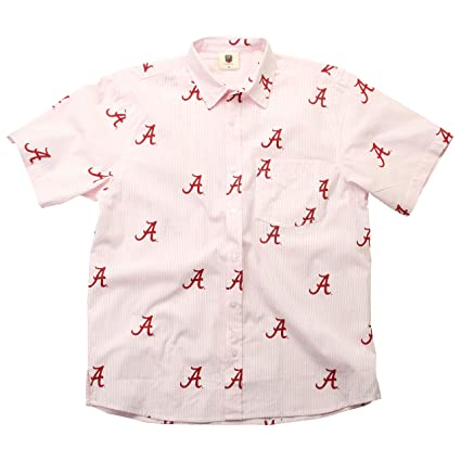 39ba1e2c3fa Amazon.com   Wes and Willy Mens NCAA Seersucker Button up Beach ...
