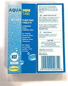 Aqua Clean - Pastillas de purificación de agua para barcos ...