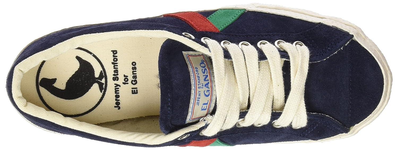 El Ganso M Berliner Suede Walking, Zapatillas de Deporte Unisex Adulto, Azul (Dark Blue), 36 EU: Amazon.es: Zapatos y complementos