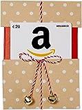 Amazon.de Geschenkgutschein in Geschenkschuber (Beige mit Punkten) - mit kostenloser Lieferung am nächsten Tag