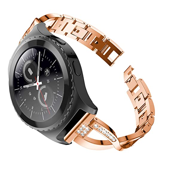 Amazon.com: Tabcover Gear S2 Classic Watch Band,22mm ...