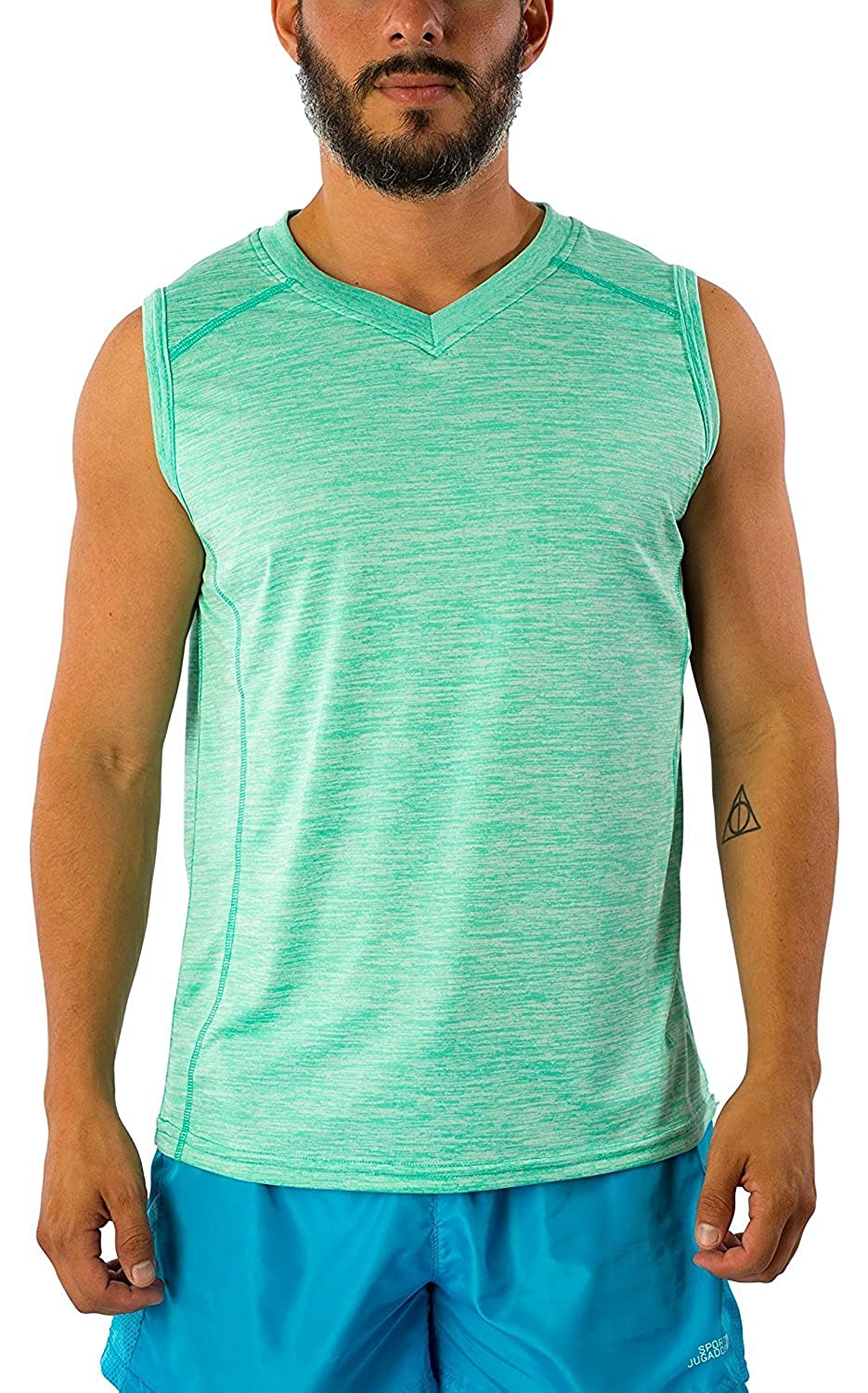Exist Men's Dri Fit Sleeveless Muscle Tank DFM017